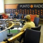 Stefania Sagnotti y Ramón García en Punto Radio